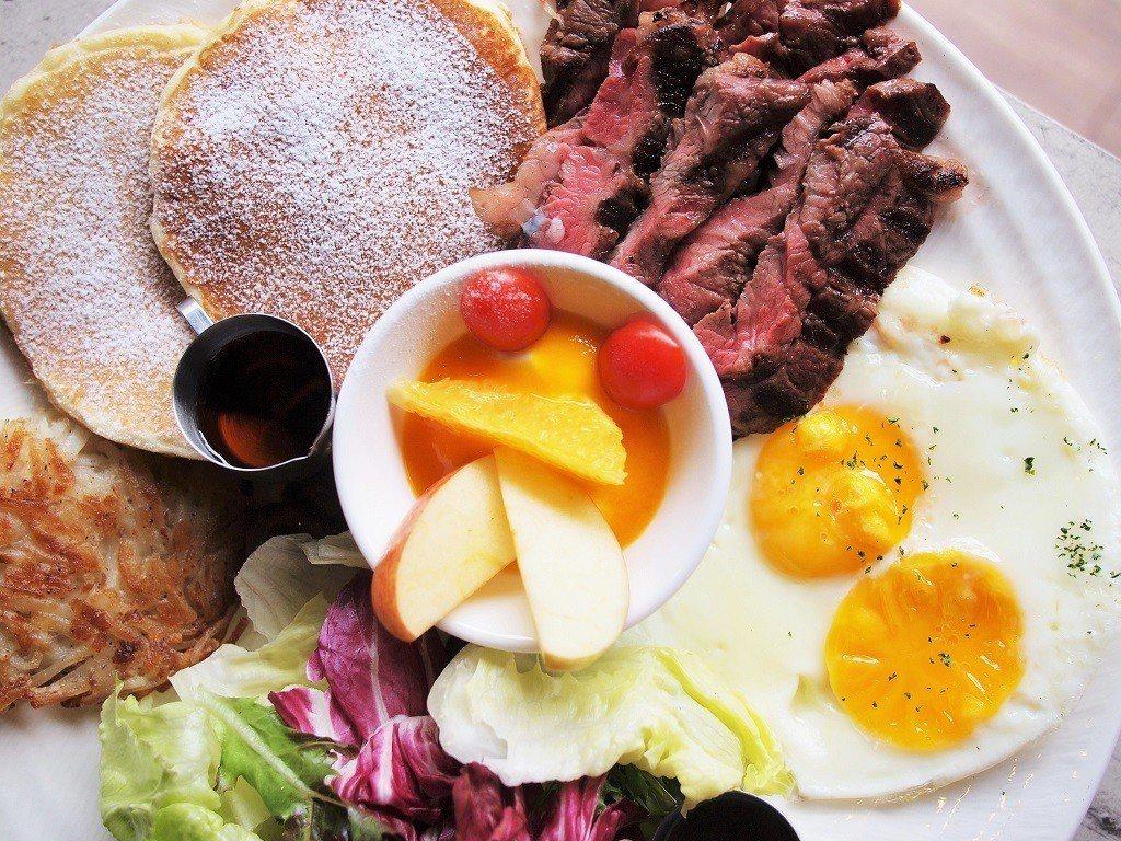 (圖/台灣旅行趣) ▲許多人愛點的早午餐選擇,餐牌裡有由進口的生菜沙拉、自製瑞士...