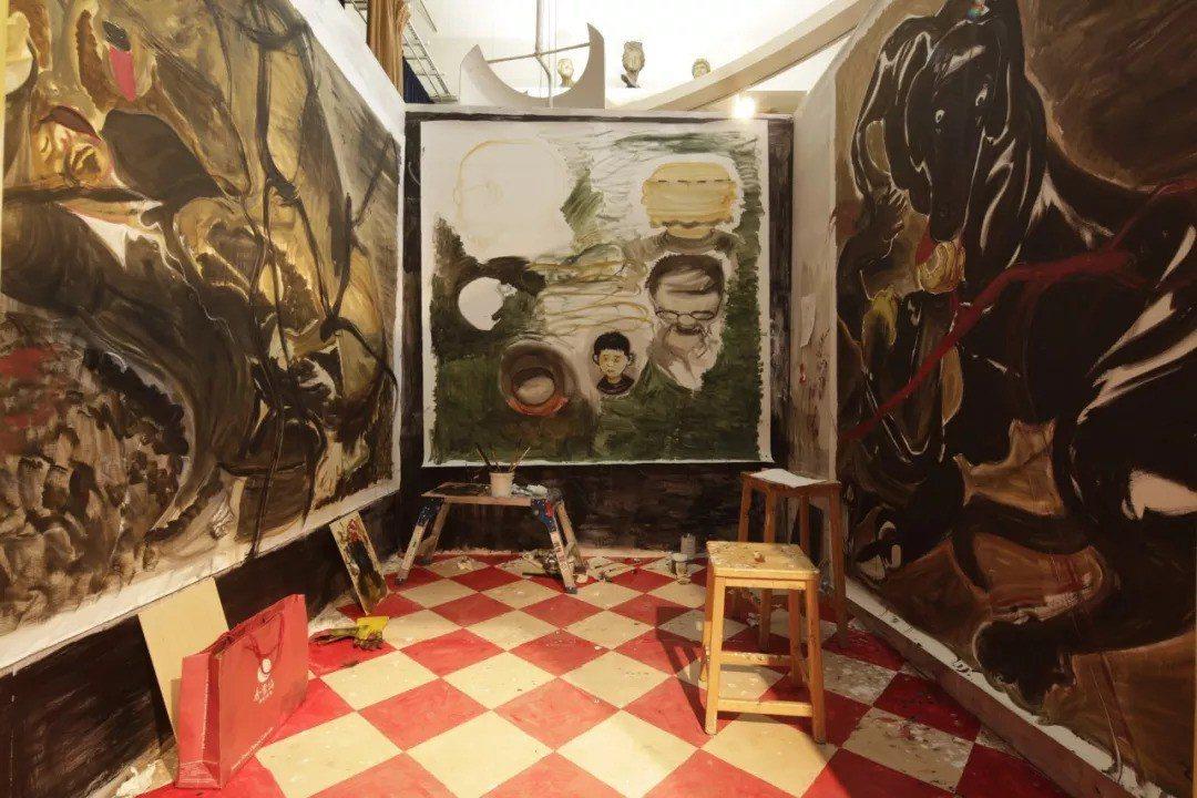 恩利工作室,KAF與英國皇家藝術研究院「藝術家駐留交換項目」。 圖片/英國皇家藝...