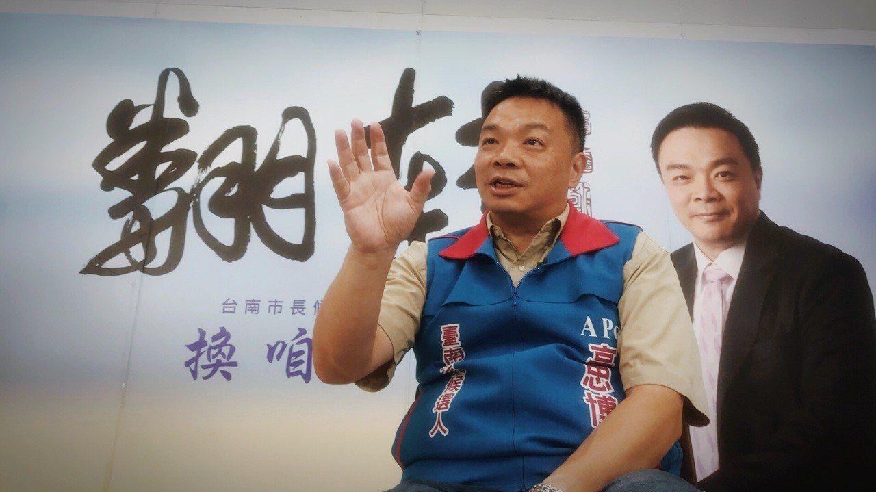 國民黨台南市長參選人高思博。 圖/高團隊提供