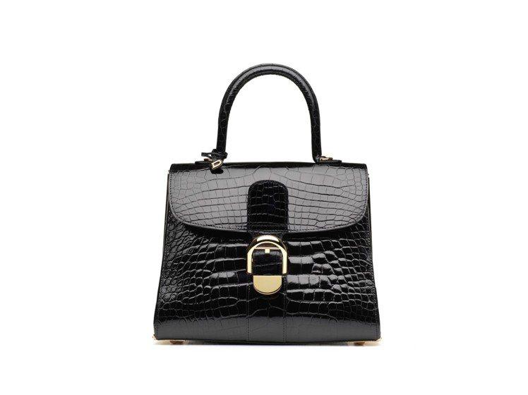 Le Diva全球限量30個的珍稀鱷魚皮包款,價格店洽。圖/DELVAUX提供