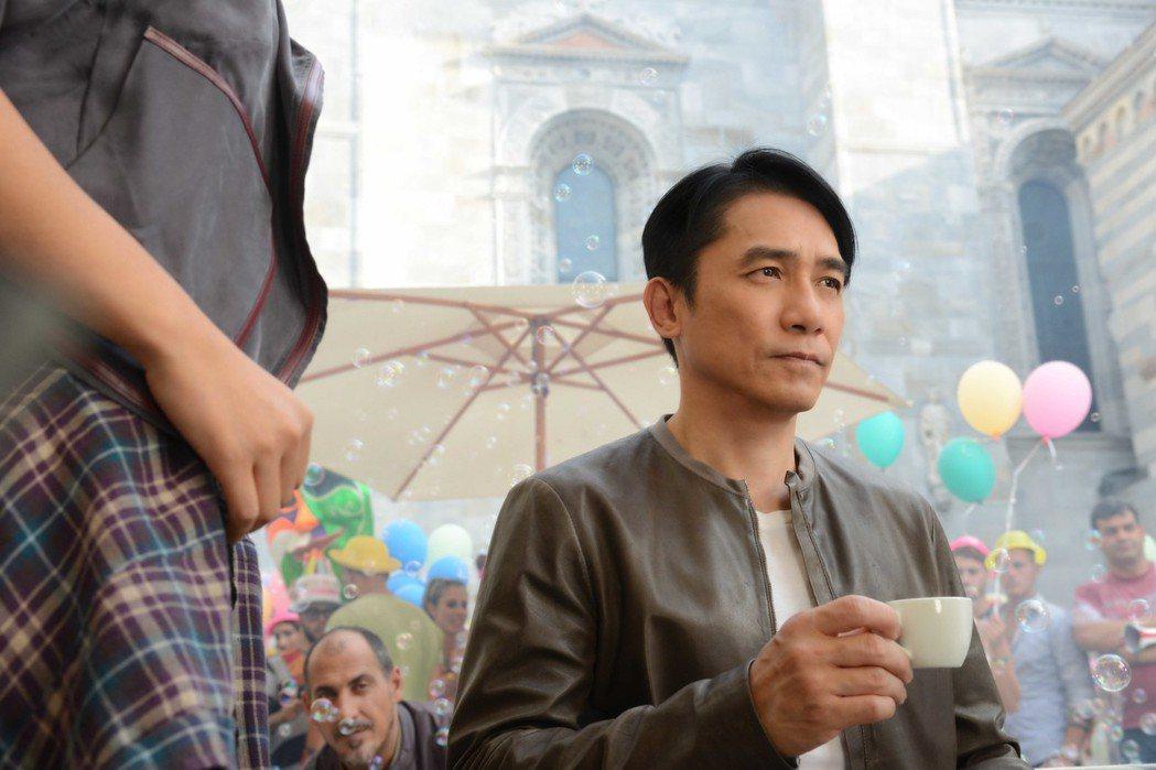 梁朝偉時隔28年的兩部電影同時在台灣上映。圖/華映娛樂提供