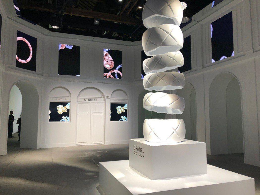 香奈兒 「Coco Crush戒不掉體驗展」,將於9月21日起至23日止於台北華...