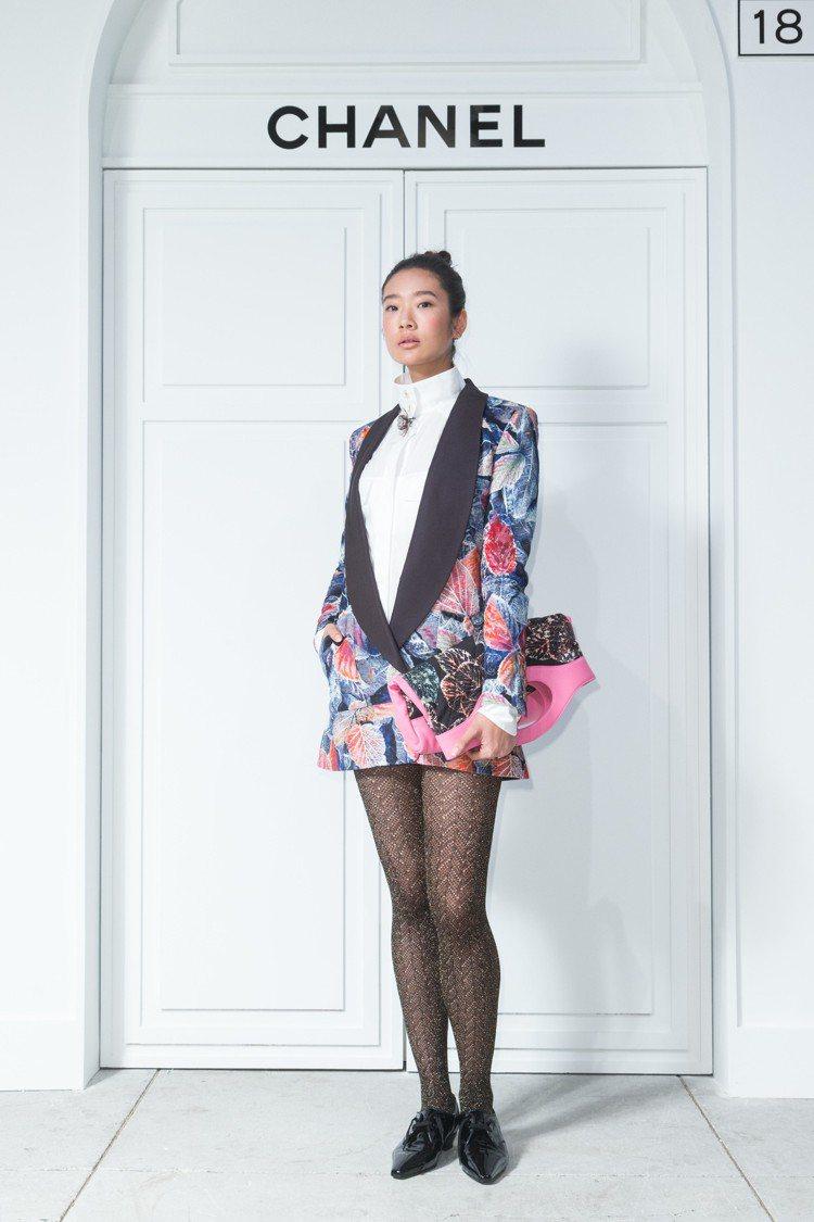 有「泰版蒼井優」之稱的泰國女演員茱蒂蒙瓊查容蘇因特地來台參加Coco Crush...