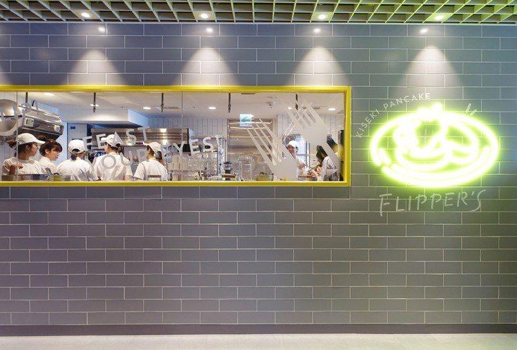 FLIPPER'S台灣誠品南西店入口處。圖/記者沈佩臻攝影