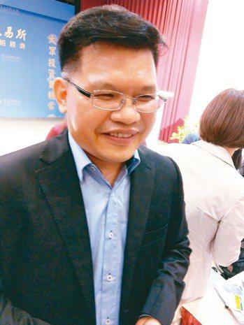 智邦總經理李志強。 記者黃晶琳/攝影