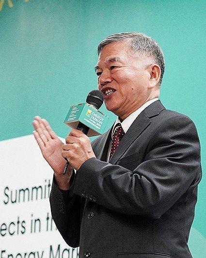 經濟部長沈榮津於「Energy Taiwan」離岸風電產業高峰會中闡明政府202...