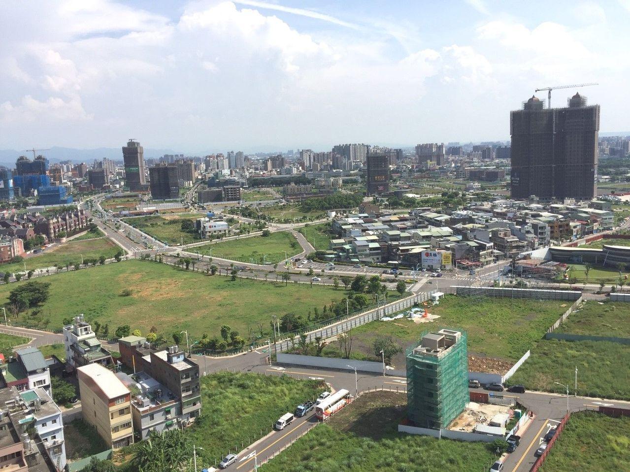新北市及桃園推案都集中在重畫區。台灣房屋/提供