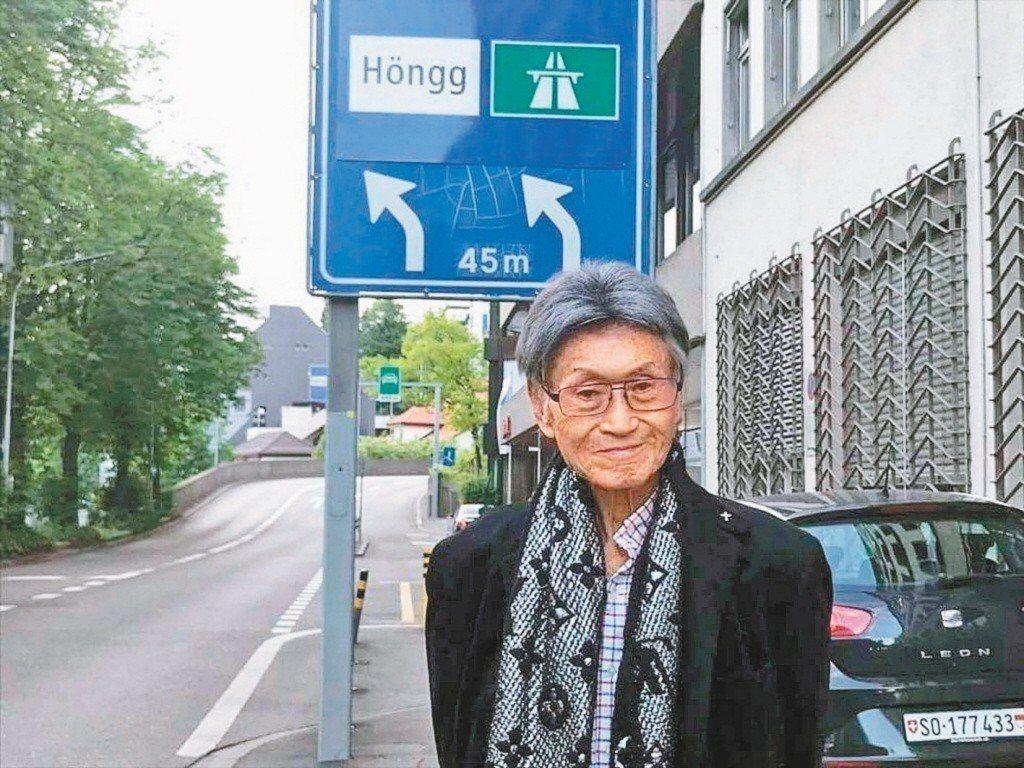 傅達仁(圖)遺孀鄭貽20日上節目錄影前受訪,談到傅達仁當時推動安樂善終議題時,不