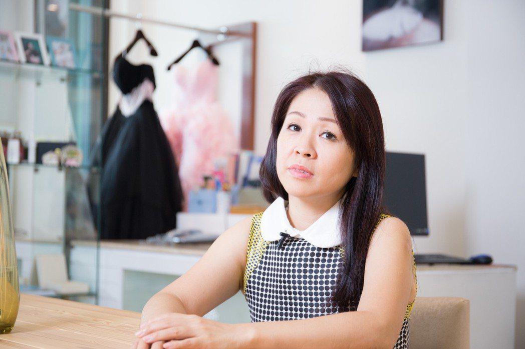 婚紗店訴求高質感,「蘇菲納婚紗館」一眼就相中「來趣迺街」。 攝影/張世雅