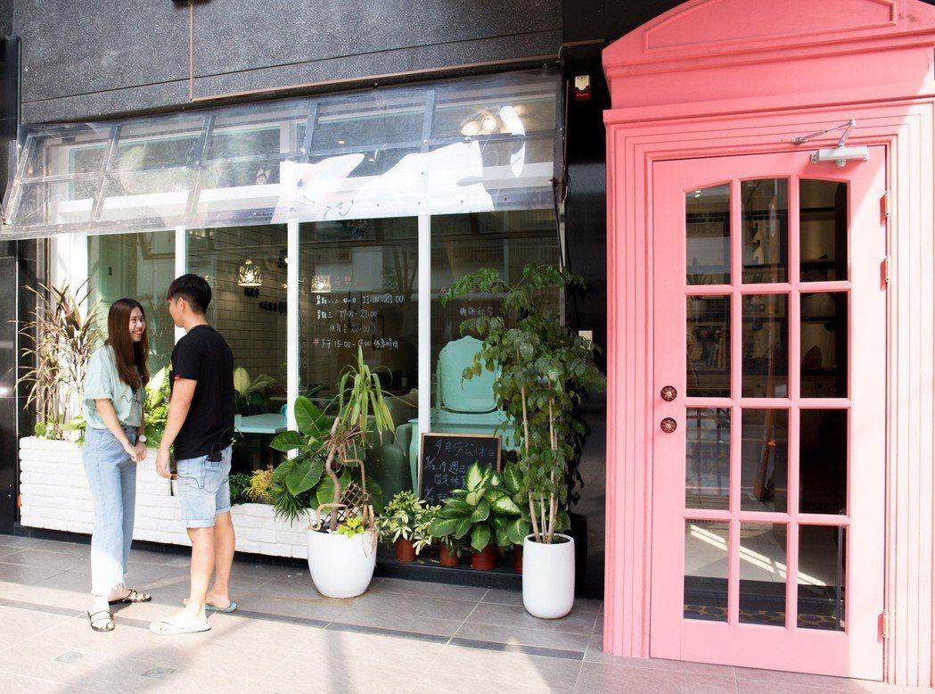 「來趣迺街」面寬6至12米,做店面氣勢不凡。 攝影/張世雅