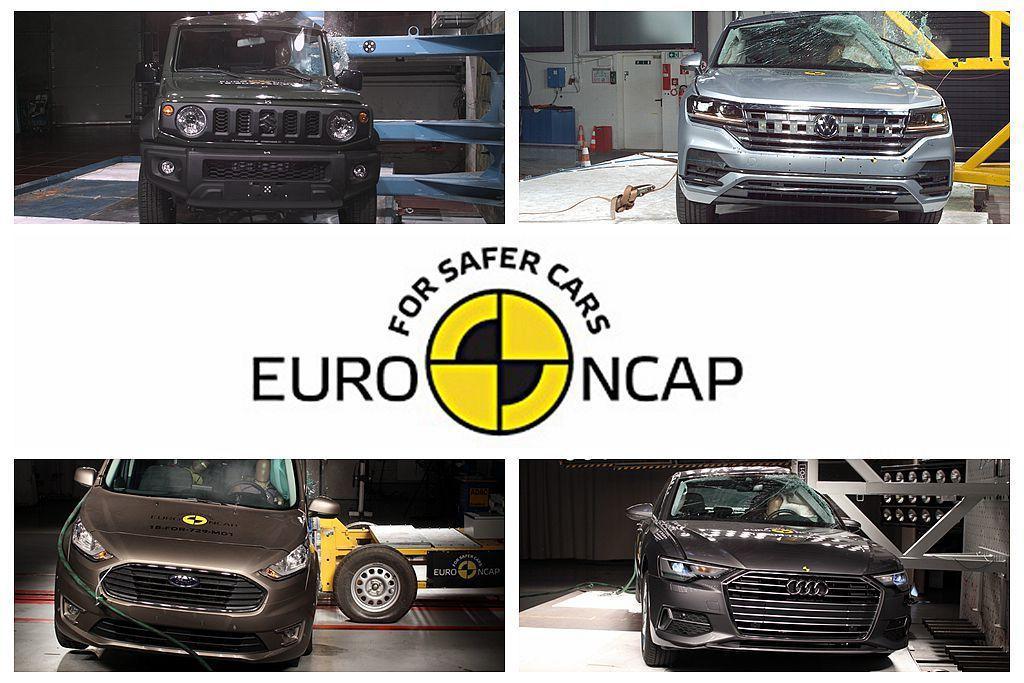 歐盟新車安全評鑑協會公布最新一波新車撞擊測試成績。 圖/Euro NCAP提供