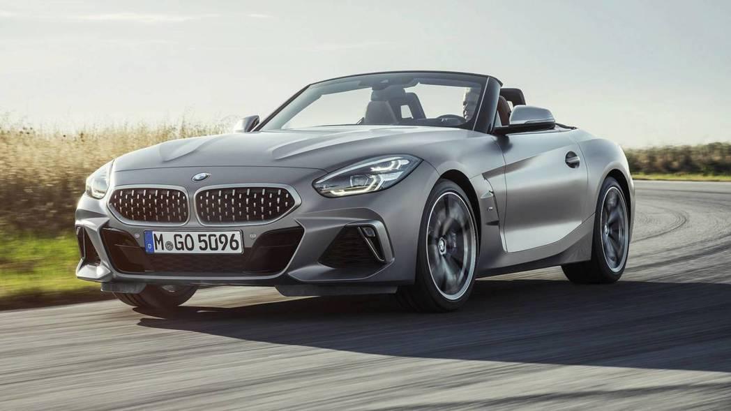 全新BMW Z4(M40i車型)。 摘自BMW