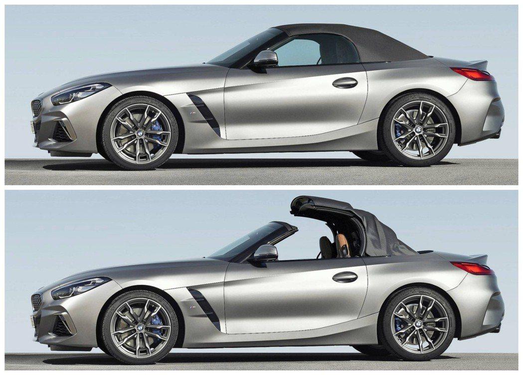 新世代BMW Z4回歸軟頂設定。 摘自BMW