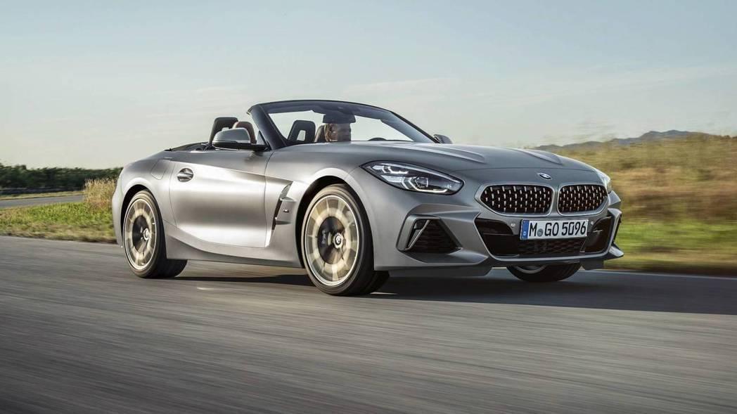全新BMW Z4 M40i標配18吋鋁圈。 摘自BMW