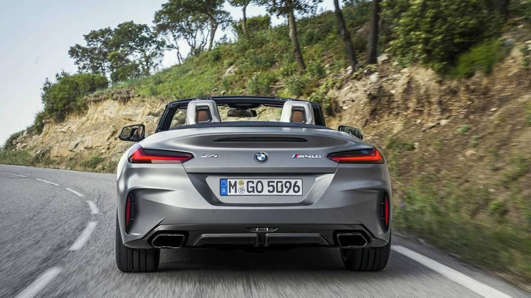 全新BMW Z4 M40i最大馬力可達340hp。 摘自BMW