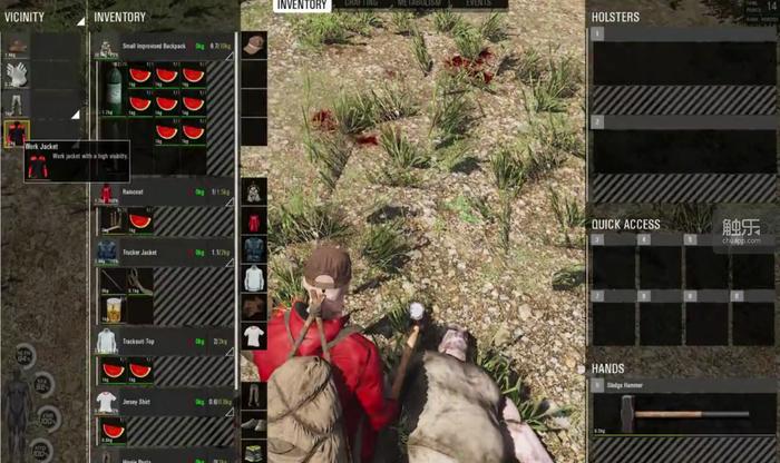 真實模擬體現在各方面:無論是掠奪屍體還是搜索容器,都需要一個不短的讀秒時間。