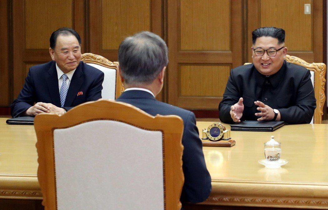 「朝韓關係、美朝關係變得越來越好了…說美朝歷史性的元首會晤是托文總統的福才辦到也...