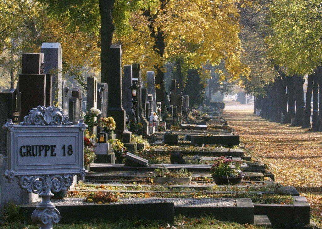 奧地利維也納中央公墓。 圖/路透社