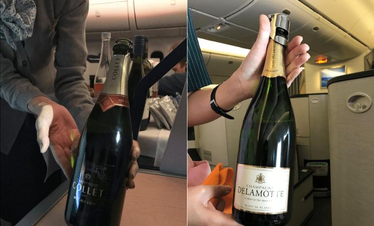 (左圖)全日空-Champagne Collet Brut Art Déco,(...