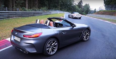 (影音)BMW Z4 M40i原型車紐柏林單圈只比Cayman S慢了9秒