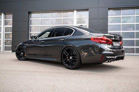 BMW M5百公里加速跑進3秒內!感謝G-Power改裝