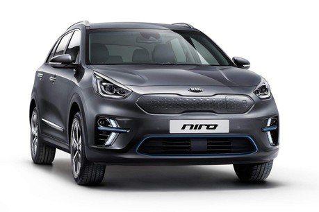 歐規Kia e-Niro電動跨界休旅 充滿電可跑485公里!