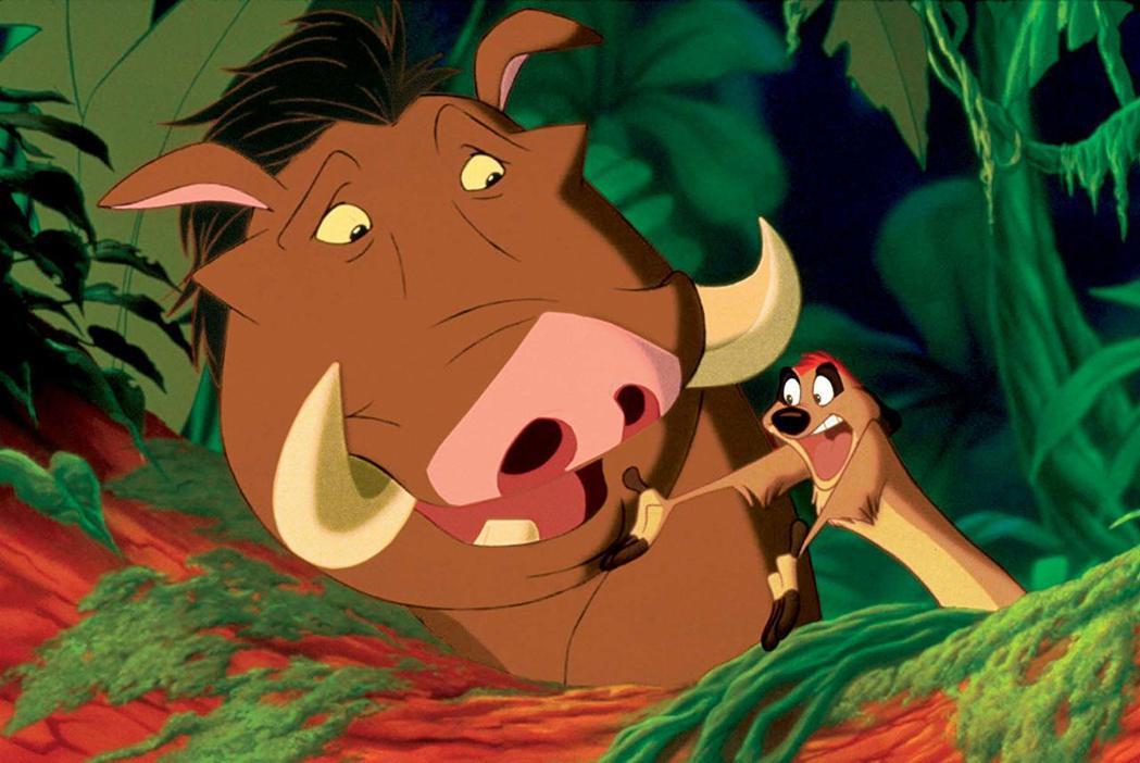 諧趣的甘草角色為「獅子王」增色不少。圖/摘自imdb