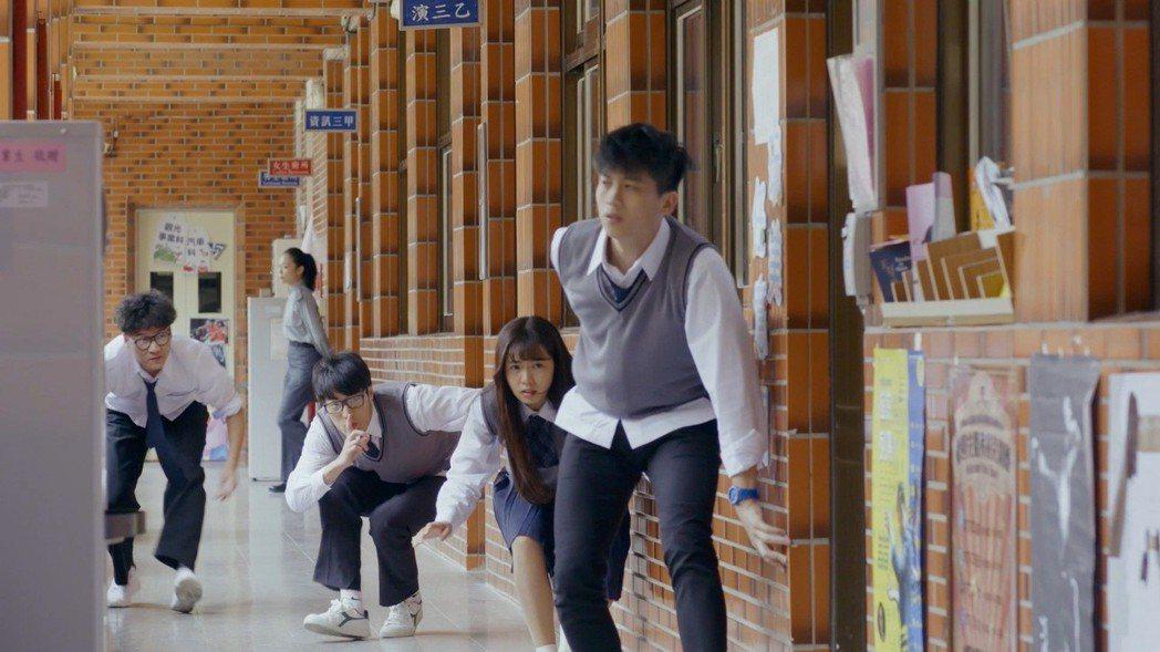 簡廷芮主演網路愛情劇「愛情練習生」。圖/LUVE提供