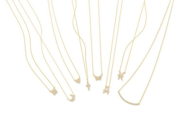 AHKAH vivian couture系列項鍊,17,400元起。圖/AHKA...
