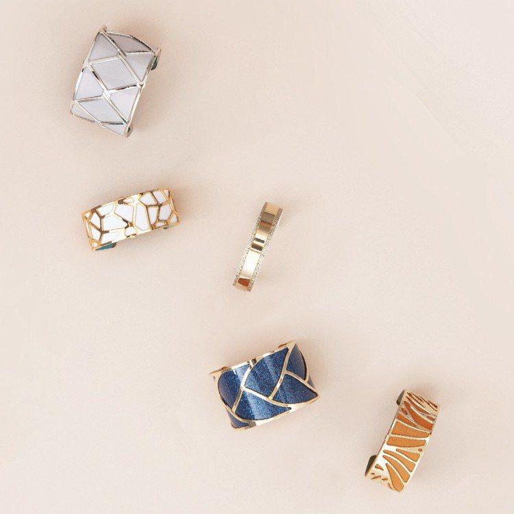 蕾香榭經典的手環系列,3,560元起。圖/蕾香榭提供