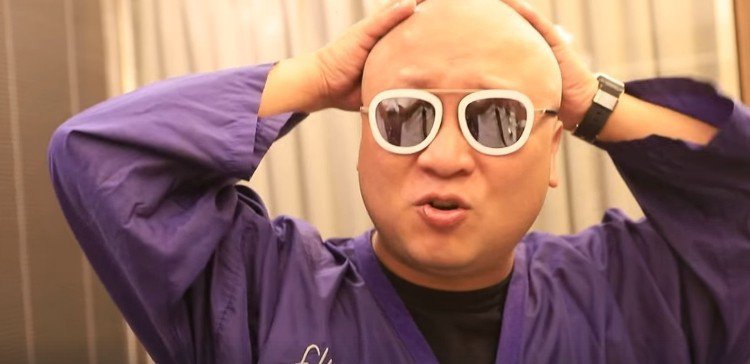 納豆笑說,自己真像郝邵文。圖/取自納豆臉書
