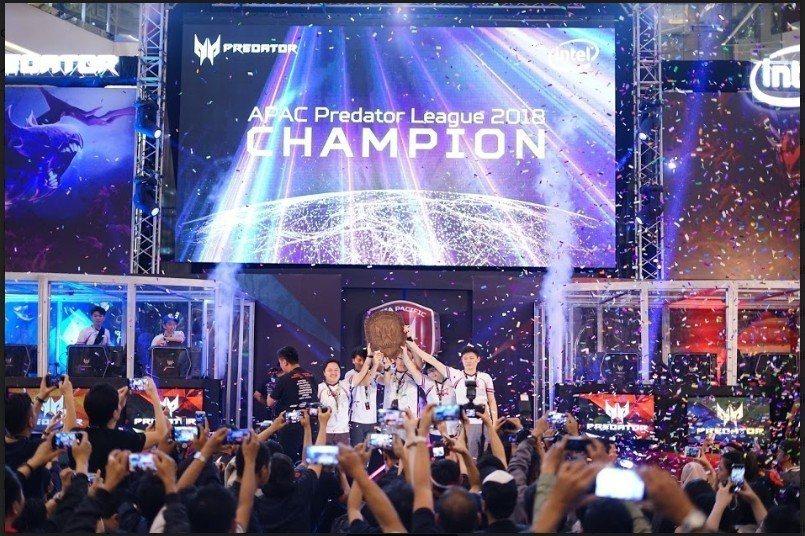 宏碁2019 亞太區Predator第二屆電競聯盟大賽9/20正式開跑 ,台灣代...