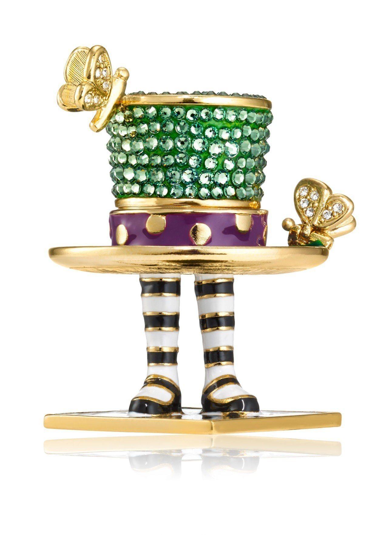 2018限量固體香精系列「魔境瘋帽匠」,售價13,800元。圖/雅詩蘭黛提供