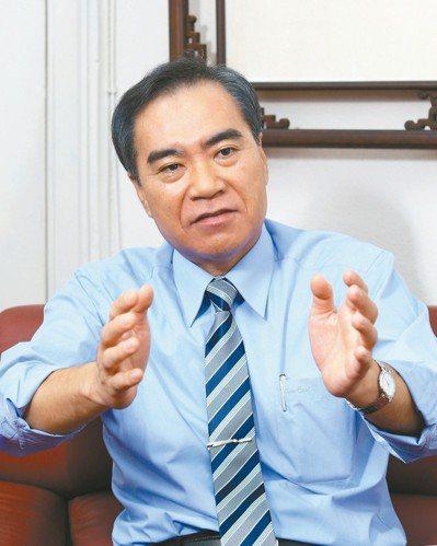 台灣菸酒公司董事長吳容輝。 記者蘇建忠/攝影