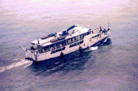 示意圖:維多利亞湖上的往來渡輪。 圖/美聯社
