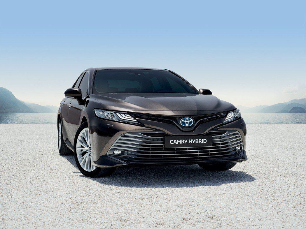 第八代Toyota Camry將以Hybrid油電混合動力身份,重返西歐市場。 ...