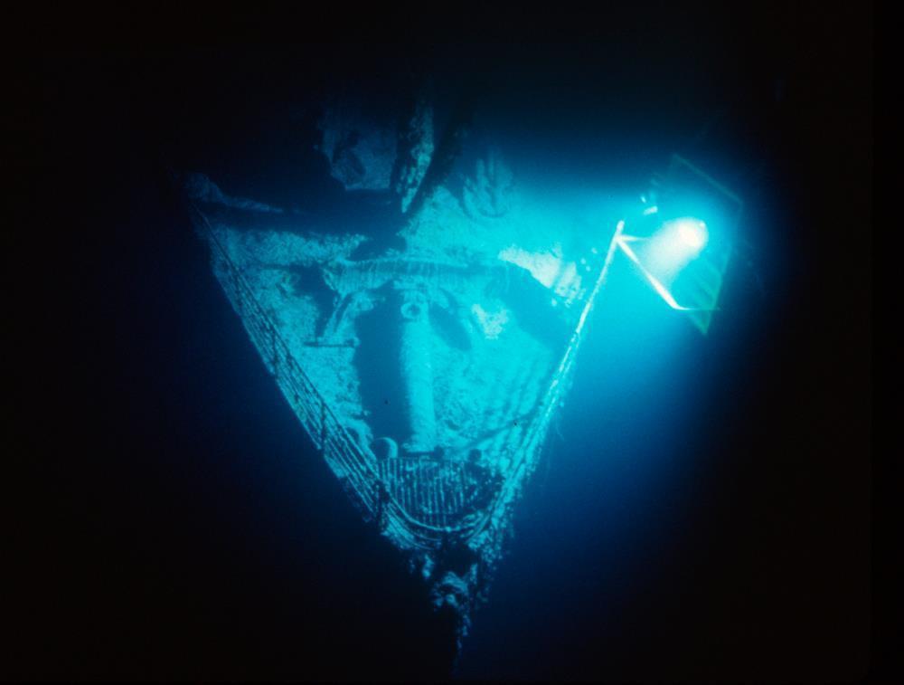 這次的競標最終得標者,還將能取得原由第一展覽公司所壟斷的「鐵達尼號遺骸圖像與影視...