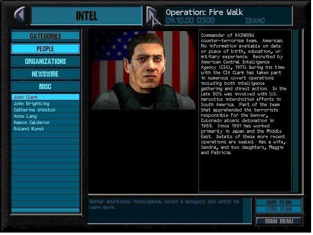 約翰克拉克出現在遊戲中的樣子。