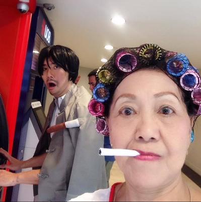 《功夫》包租婆。 圖片來源/Shirley Chua臉書
