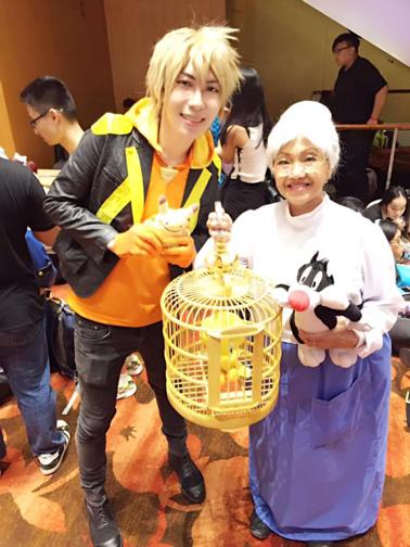 《崔弟與大傻貓》老奶奶。 圖片來源/Shirley Chua臉書