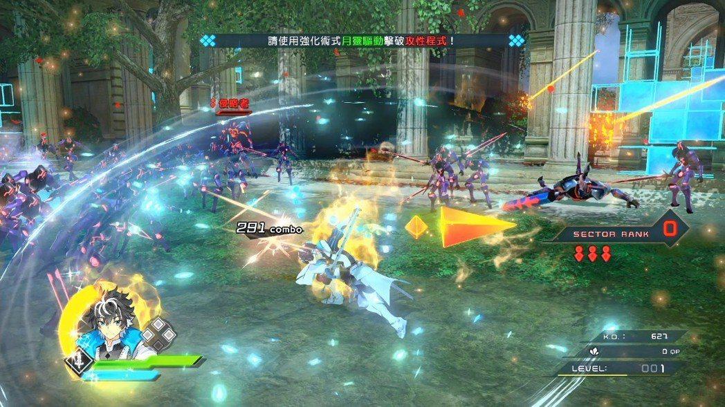 每一位英靈所持有的技巧都相當豐富。搭配輕重攻擊交互使用,就可以使出不同的攻擊招式...
