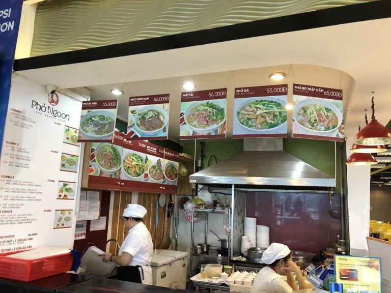 美食廣場的餐廳 圖文來自於:TripPlus