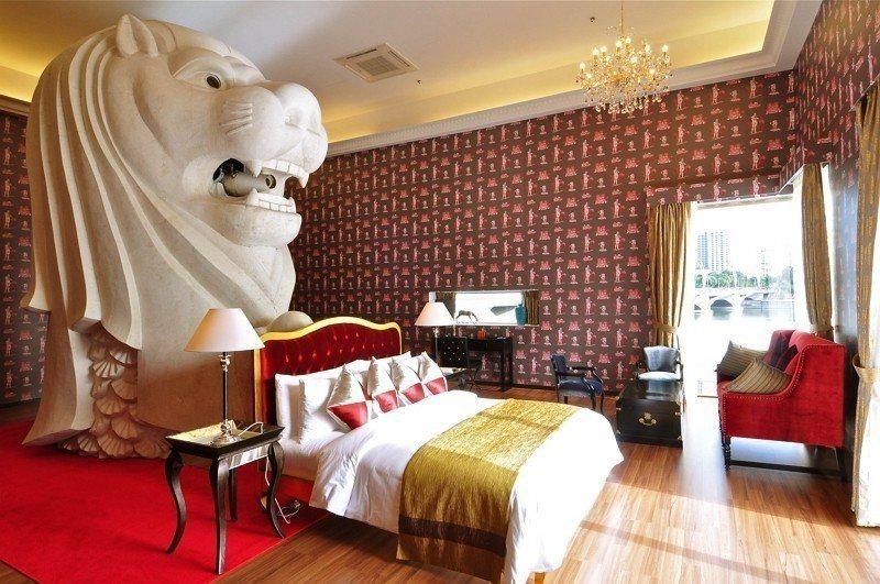 圖:日本藝術家西野達(魚尾獅酒店) / 主辦單位 提供