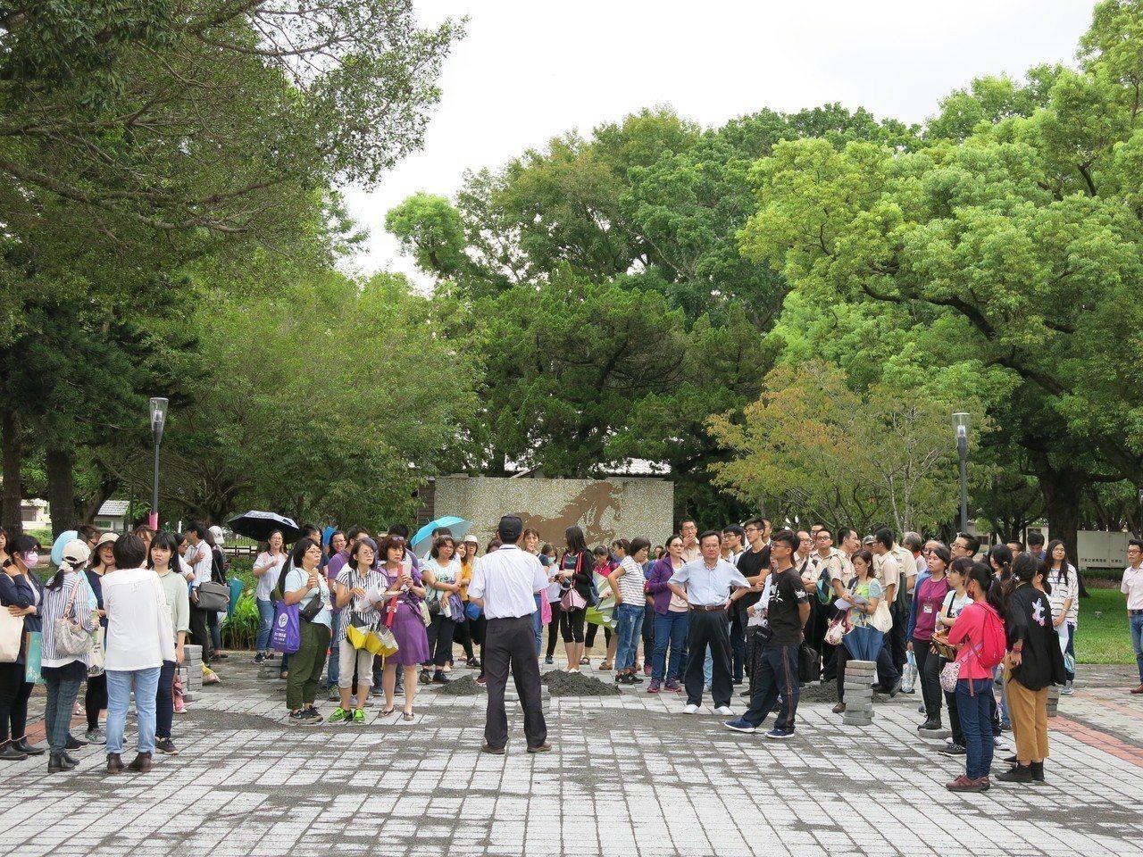 兼具歷史及台灣花卉技術的后里馬場,將是今年台中花博最熱門的園區。記者黑中亮/攝影