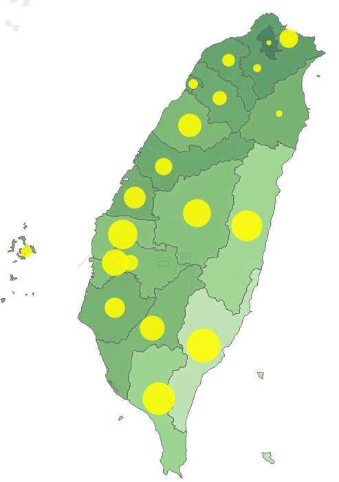 台灣地區平均壽命及標準化死亡率。圖/內政部提供