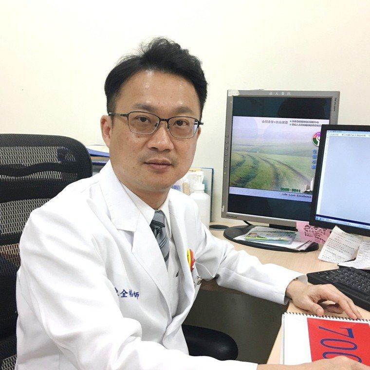 成大醫院家庭醫學部醫師陳全裕表示,根據統計,只靠自己的意志力戒菸,成功率僅3致5...