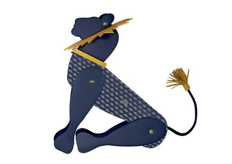 首爾全球獨家限量獅子王造型擺飾。圖/FAURÉ LE PAGE提供