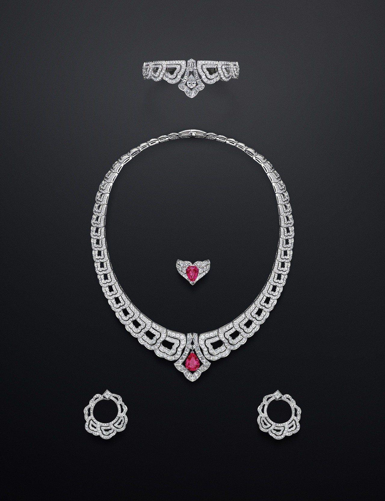 路易威登全新Conquêtes – Regalia頂級珠寶系列尖晶石套組,價格...