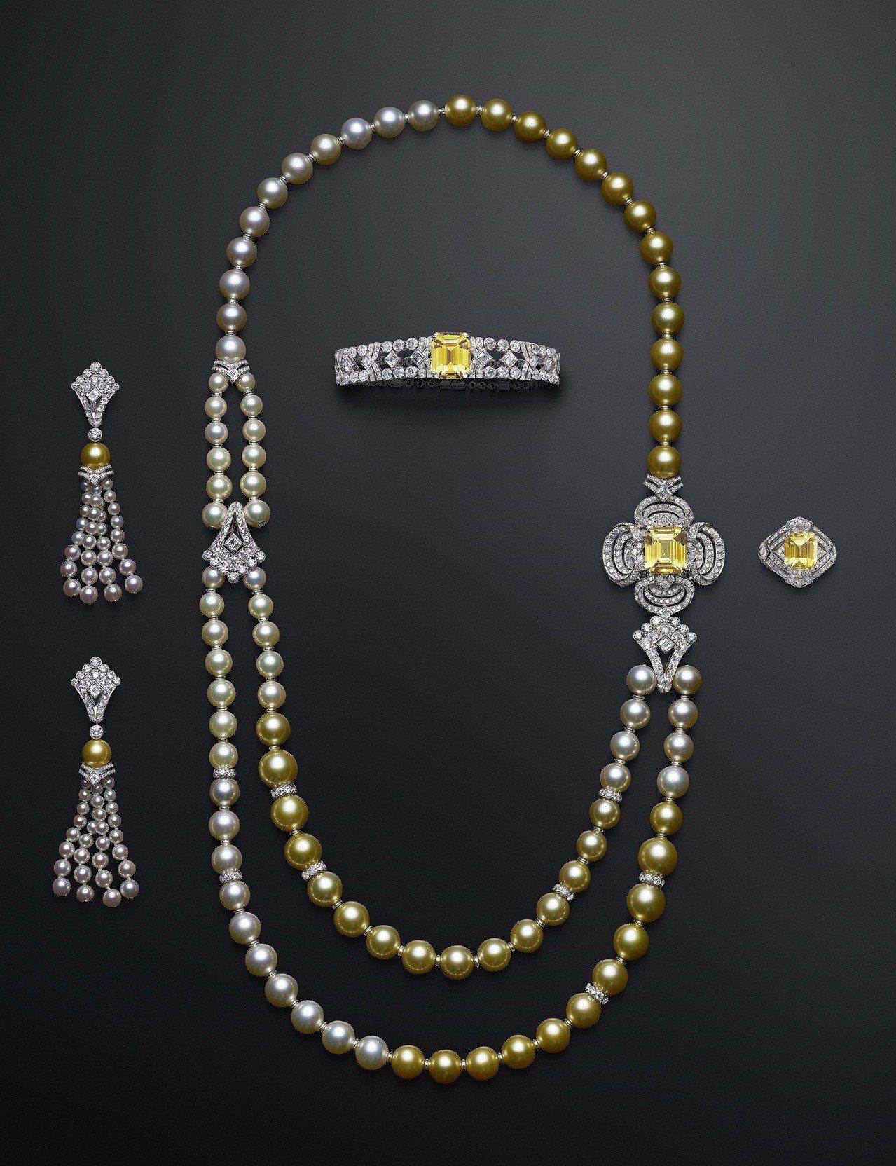 路易威登全新Conquêtes – Regalia頂級珠寶系列黃色剛玉套組,價...