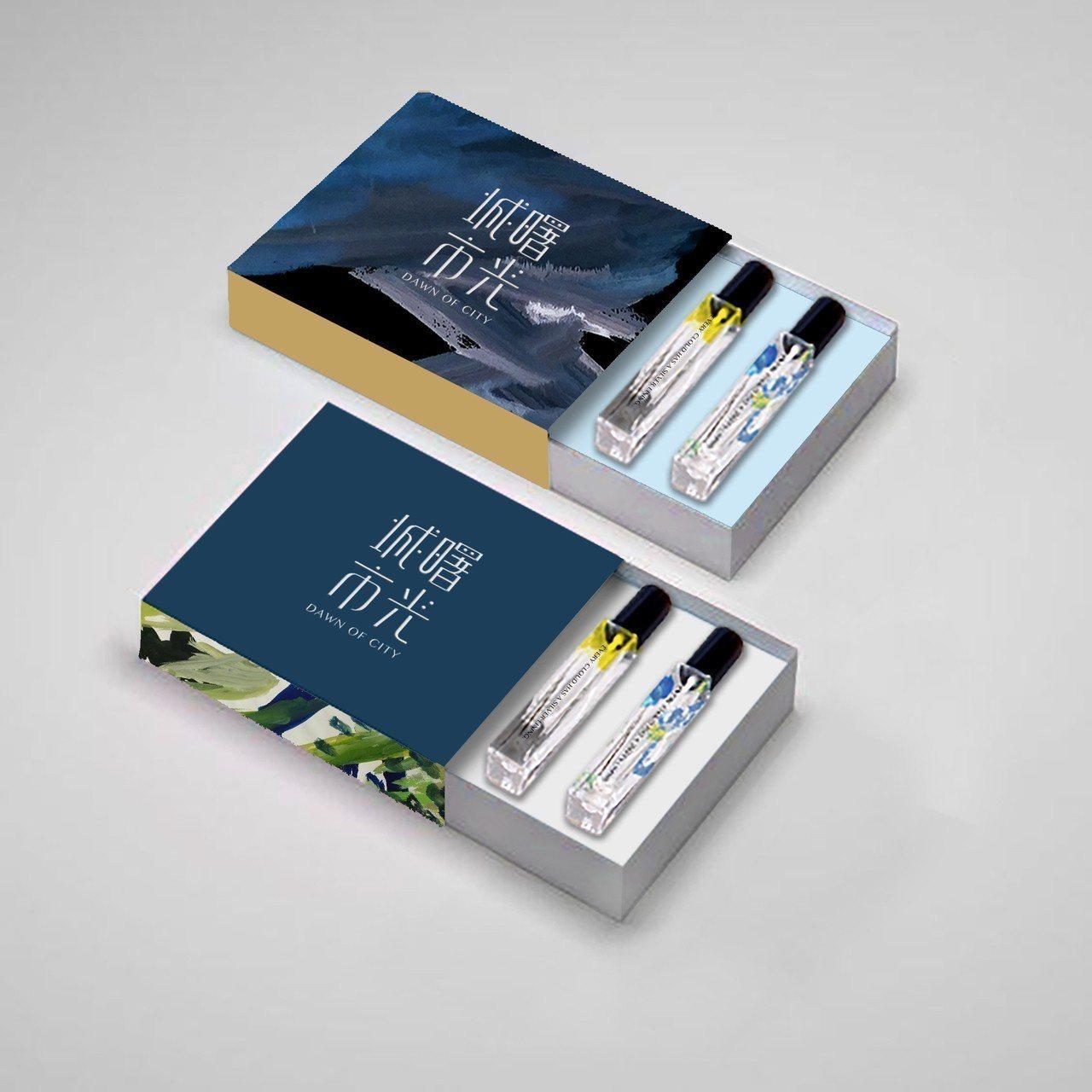 點點善說,城市曙光計畫今天起至23日在台南陳德聚堂舉辦的「台灣氣味巡迴展」中,首...